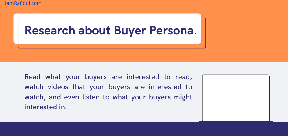 buyer persona in content planning