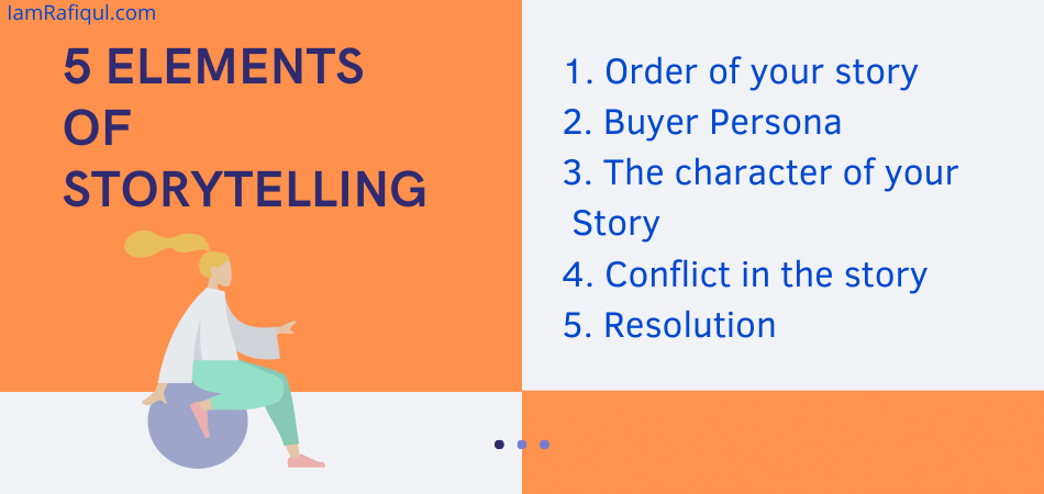 elements of storytelling in business