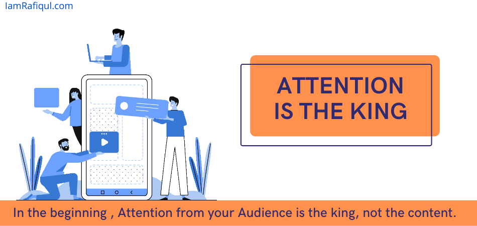 role of attention in storytelling