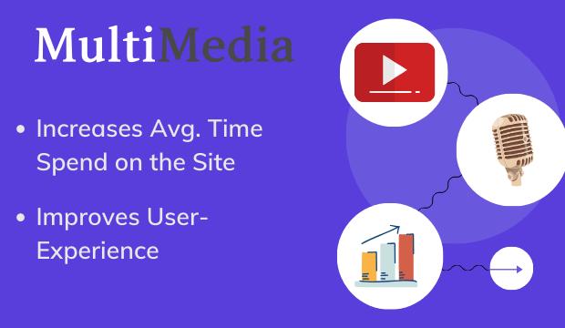 include multimedia