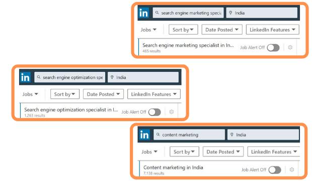 Jobs in blogging