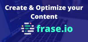 overview of frase.io, a content marketing tool