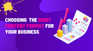 selecting the right content format