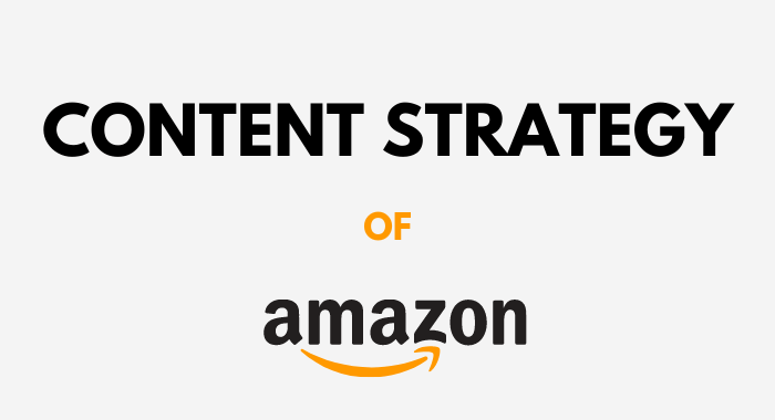 content strategy of amazon