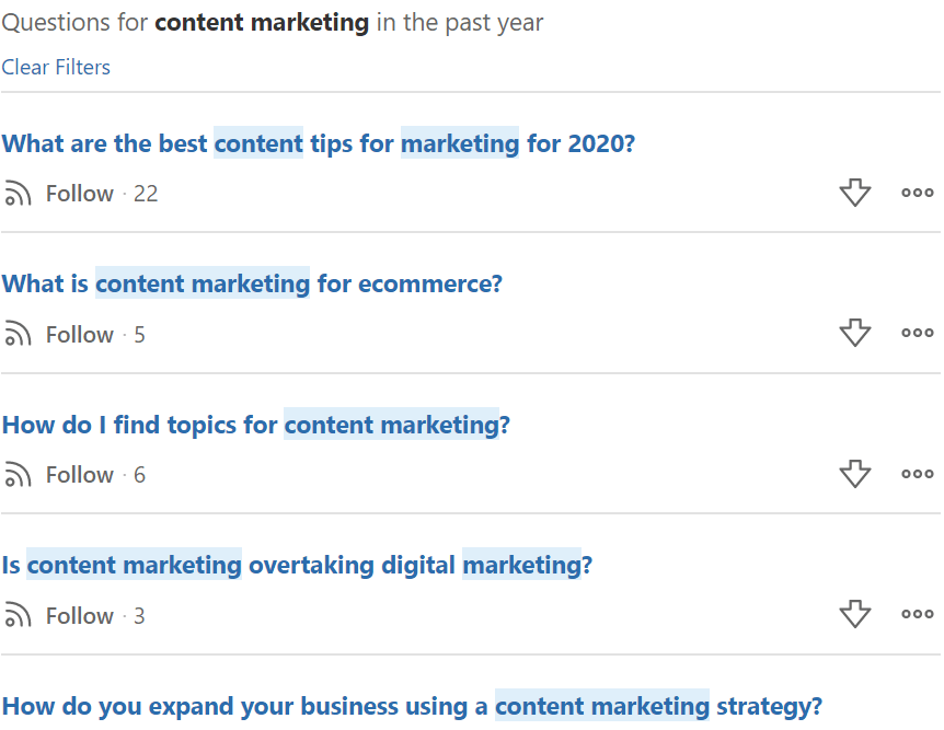 how to get content ideas from quora
