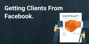get clients from Facebook