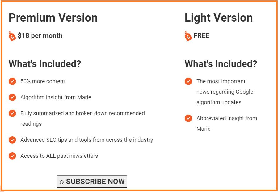 freemium newsletter model