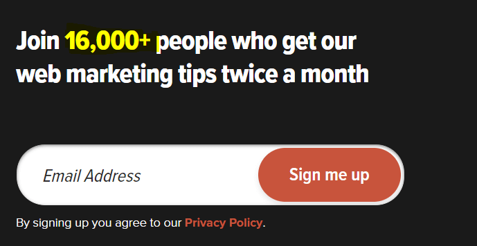 how to use social proof for email signUp